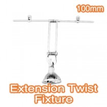 Extension Twist Action Fixture 100mm Trapeze Lighting Commercial Ceiling Shop Window Light