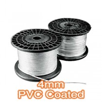 4mm PVC Coated Cable Trapeze Lighting Lighting Cables & Lamp Holders