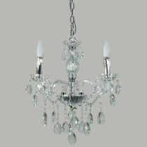 Venice 3 Lights Crystal Classical Chandelier Lighting Lode International