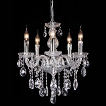 Venice Crystal Chandelier Lighting Classical 5 Lights Lode International