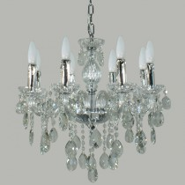 Venice Lighting Lode International 8 Lights Crystal Chandelier Pendants