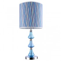 Verde Table Lamp Modern Aqua Blue Light Shade