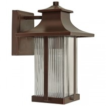 Ward Bronze Outdoor Traditional Lighting Exterior Wall Lights Brown