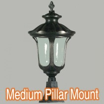 Waterford Outdoor Lighting Exterior Pillar Mount Lights Post Brick Top
