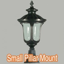 Waterford Outdoor Pillar Mount Light Traditional Lighting