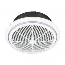 Whisper 270 Round Exhaust Fan White 18203 Brilliant Lighting