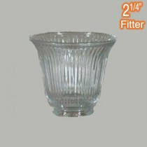 Zipper 23 Small Glass Shade Clear