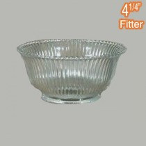 Zipper 43 Large Glass Shade Clear