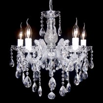 Zurich Crystal 5 Lights Classical Chandelier Lighting Pendants