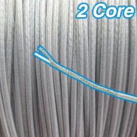 Inner & Outer PVC Cord Cable - 2 Core 12v