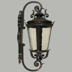 Albany Medium Outdoor Wall Light - Antique Bronze