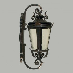 Albany Small Outdoor Wall Light - Antique Bronze