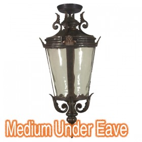 Albany Medium Outdoor Under Eave Light - Antique Bronze
