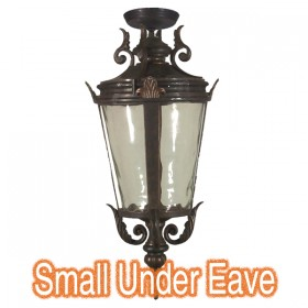 Albany Small Outdoor Under Eave Light - Antique Bronze