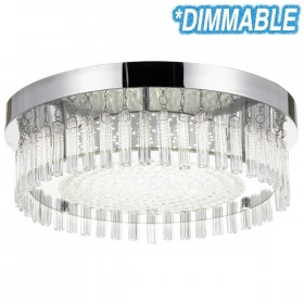 Andela 30w Dimmable Round LED Oyster Light