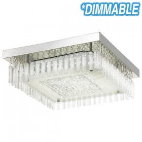 Andela 30w Dimmable Square LED Oyster Light