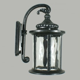 Argyle Outdoor Wall Light - Antique Black