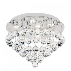 Bliss 40 LED Crystal CTC (Close-to-Ceiling) Light - Round