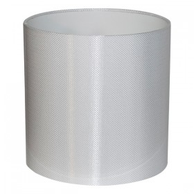Carbon45 Large Fabric Shade - White