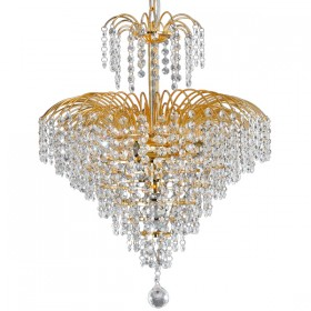 Cascade43 Chandelier Light - Gold