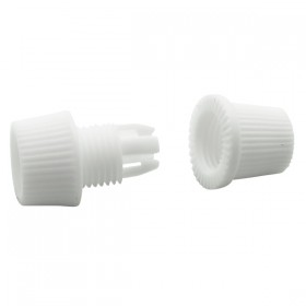 Cord Grip Plastic - 2Piece White