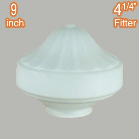 "Derby 9"" Glass Shade - Opal Matt"