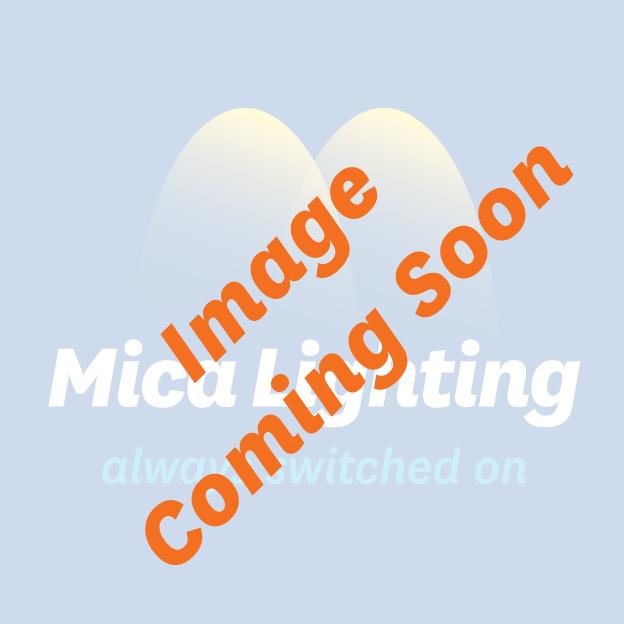 Eclipse Twin Lamp Fan Light Kit - Brushed Chrome