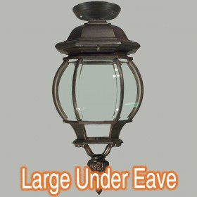 Flinders Large Outdoor Under Eave Light - Antique Bronze