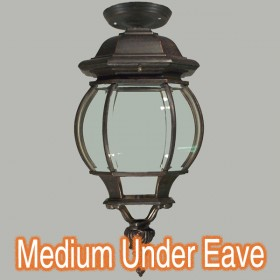 Flinders Medium Outdoor Under Eave Light - Antique Bronze