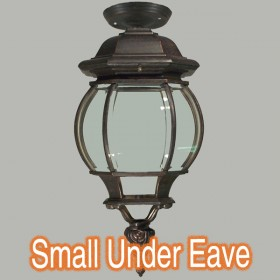 Flinders Small Outdoor Under Eave Light - Antique Bronze