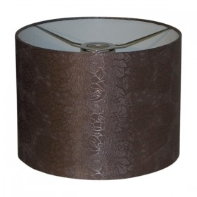 Flora30 Medium Fabric Shade - Coffee