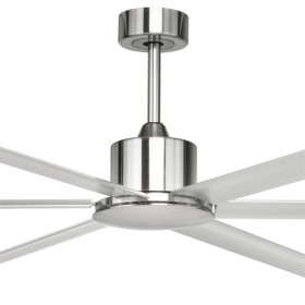 "Hercules 84"" DC Metal 6Blade Ceiling Fan - Satin Nickel"