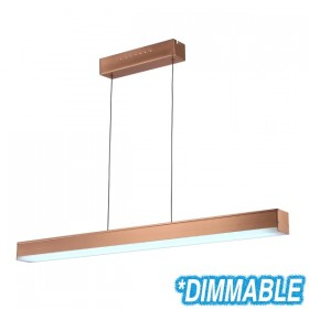 Jetz100 Dimming LED Pendant Light - Copper