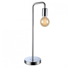 Klop Table Lamp - Chrome