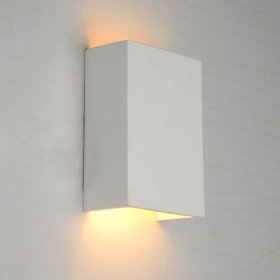Korbo Plaster Wall Sconce Light