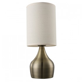 Lisa Touch Table Lamp - Cream