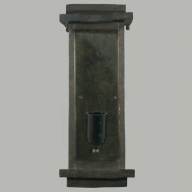 Loft Outdoor Wall Sconce Light - Antique Bronze