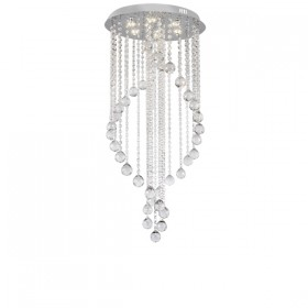 Majesty 40 LED Crystal Chandelier