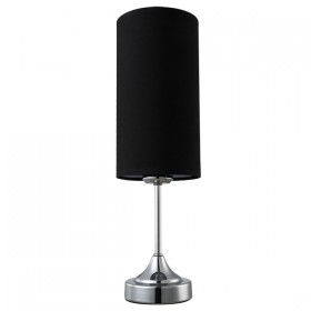 Mena Touch Table Lamp - Black