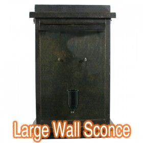 Montrose Large Outdoor Wall Sconce Light - Antique Bronze