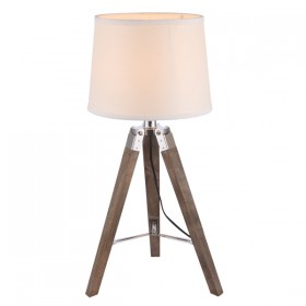 Morang Table Lamp - Old Wood