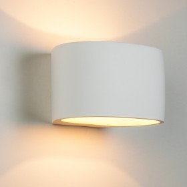 Ovam Plaster Wall Sconce Light