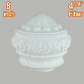 "Premier 8"" Glass Shade - Opal Matt"