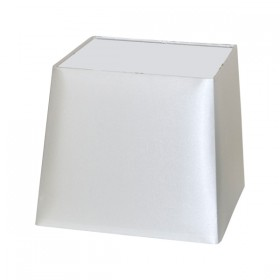 Quad21 Small Fabric Shade - White