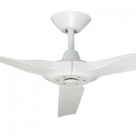 "Radical2 60"" DC Polymer 3Blade Ceiling Fan - White"