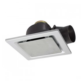 """Sarico2 270 8"""" Square Exhaust Fan - Stainless Steel"""