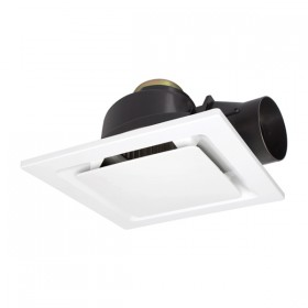 "Sarico2 270 8"" Square Exhaust Fan - White"