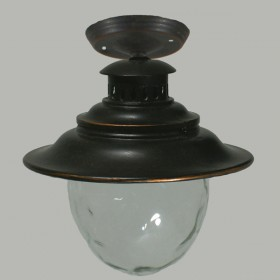 Southby Outdoor Under Eave Light - Antique Bronze