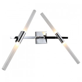 Spear 4 Wall Light - Chrome