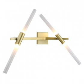 Spear 4 Wall Light - Gold Matt